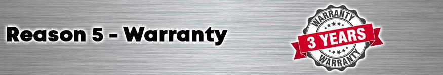 Volcano - Warranty