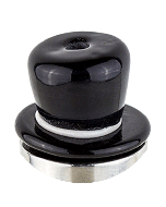 Glass Top Hat Drip Tip