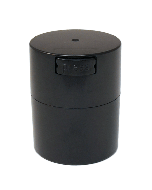 Tight Vac Airtight Stash Container - 0.57L - Black
