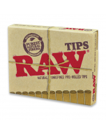 RAW Pre-Rolled Tips - Pack Of 21