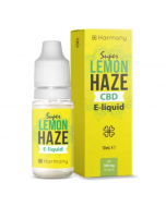 Harmony CBD E-Liquid - Super Lemon Haze - 10ml