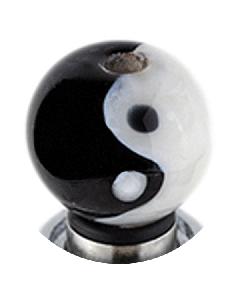 Glass Yin/Yang Drip Tip
