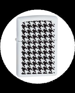 Zippo Lighter - Houndstooth
