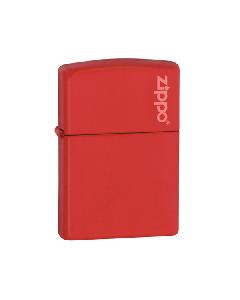 Zippo Lighter - Matte - Red