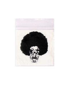 Afro Skull Baggies x 100 (50x50mm)