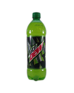 Mountain Dew Safe Bottle