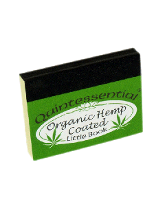 Quintessential Organic Hemp Coated Smoking Tips - Little Book