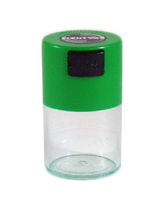 Tightvac Airtight Stash Container - 0.06L - Green/Clear