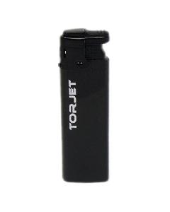 Torjet Windproof Jet Flame Lighter - Black
