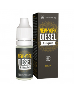 Harmony CBD E-Liquid - New York Diesel - 10ml