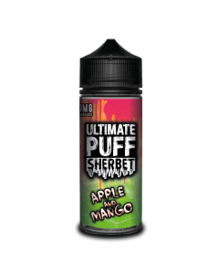 Ultimate Puff Sherbet - Apple And Mango - 100ml Shortfill