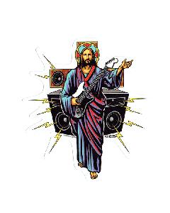 Vinyl Sticker - Almera Guitar Hero