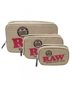 RAW Smell Proof Smokers Pouch - 3 Sizes