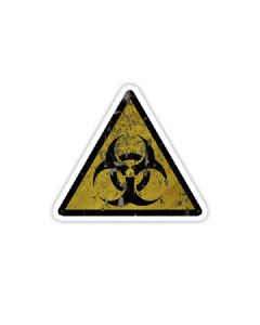 Vinyl Sticker - Biohazard