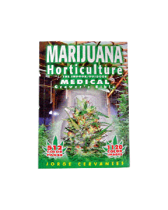 Marijuana Horticulture: The Indoor/Outdoor Medical Grower's Bible by Jorge Cervantes Front