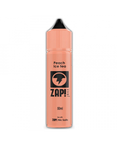 Zap! Juice E-liquid - 50ml - Peach Ice Tea
