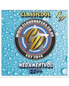 Cloud Vapers - Classicool - Short Fill - 50ml - Megamenthol CC++