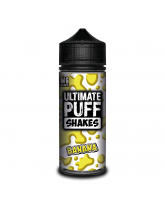 Ultimate Puff Shakes - Banana - 100ml Shortfill