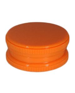 Neon 2 Part Grinder With Stash - Neon Orange