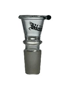 Black Leaf Medium V-Shaped Bowl With Handle