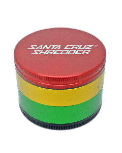 Large Santa Cruz Shredder - 4 Part - Rasta_1