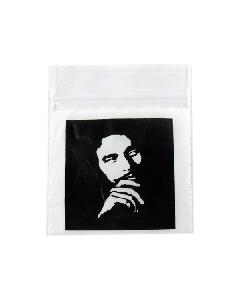 Bob Marley Baggies x 100 (50x50mm)