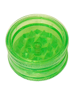 Mini Magnetic Acrylic Grinder - 2-Part - 40mm - Green