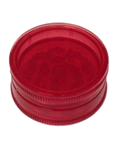 Mini Magnetic Acrylic Grinder - 2-Part - 40mm - Red