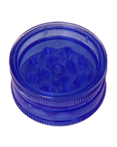Mini Magnetic Acrylic Grinder - 2-Part - 40mm - Blue