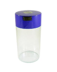 Tight Vac Airtight Stash Container - 1.3L - Blue/Clear