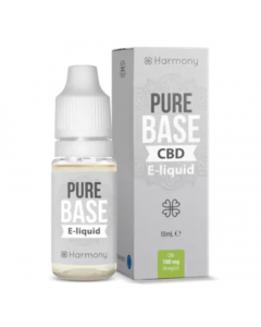 Harmony CBD E-Liquid - Pure Base - 10ml