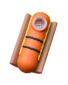 Bounce Silicone Hotdog Pipe