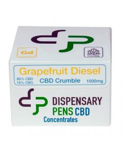 Dispensary Pens CBD Crumble - Grapefruit Diesel
