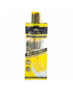 King Palm - Organic Mini Pre-Rolled Cones - Banana Cream - Two Pack