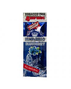 Royal Blunts Hemparillo Wraps 4 Pack - Blueberry