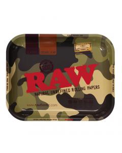 RAW Camo Metal Rolling Tray