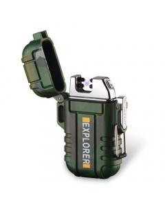 Waterproof Dual Arc Plasma Lighter - Camo