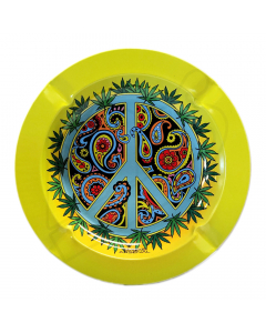 Smoke Arsenal Metal Ashtray - Inner Peace