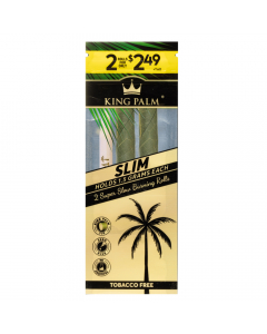 King Palm - Organic Slim Pre-Rolled Cone - Two Pack