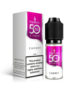 Vapouriz 50/50 - E-Liquid - 10ml - Cherry