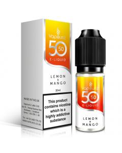 Vapouriz 50/50 - E-Liquid - 10ml - Lemon And Mango