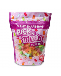 Pick 'N' Mix Fizzy Mix Giant Pouch 1kg