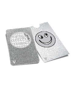 V Syndicate Grinder Card - 85 x 55mm - Frosted Smiley