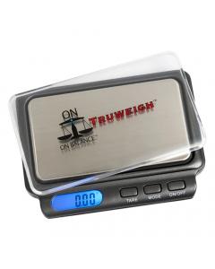 On Balance Truweigh Digital Scales - 100g x 0.01g - Black