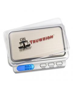 TW-100-SL - On Balance Truweigh Digital Scales - Silver - 100g x 0.01g