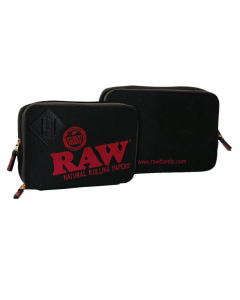 RAW - Weekender - Smell Proof - Smokers Pouch - Black
