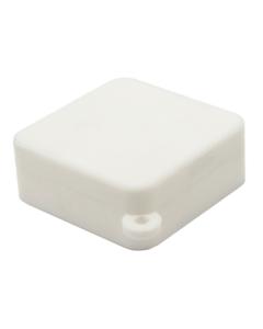 Square Silicone Container - White