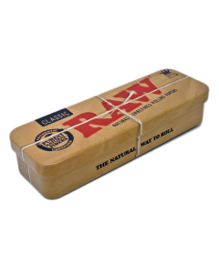 Raw Metal Rolling Caddy - King Size