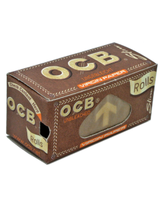 OCB - Unbleached Virgin Rolls - Slim