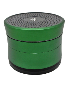 Solinder From Aftergrow - 4 Part 62mm Grinder - Green